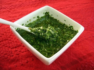 Chimichurri without the heat.